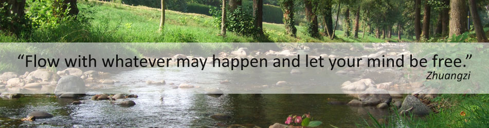 Flow with whatever may happen